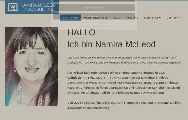 Vorschau von www.namira-mcleod.de, Namira McLeod