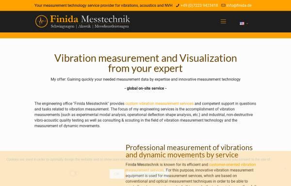 Vorschau von www.finida.de, Finida Messtechnik