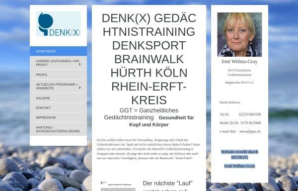 Vorschau von www.denkxwillms.de, Denk(x)