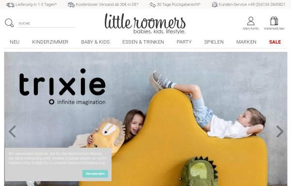 Vorschau von www.littleroomers.de, Little Roomers GmbH