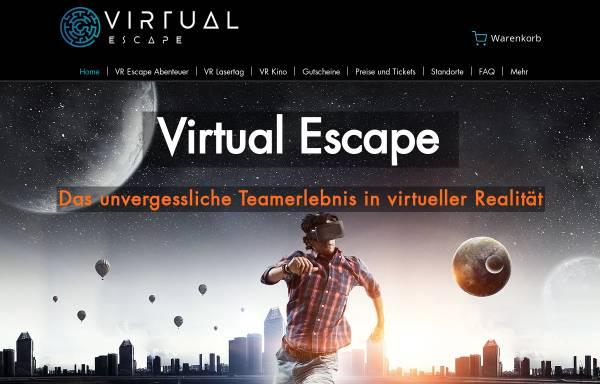 Vorschau von virtual-escape.at, Virtual Escape e.U.