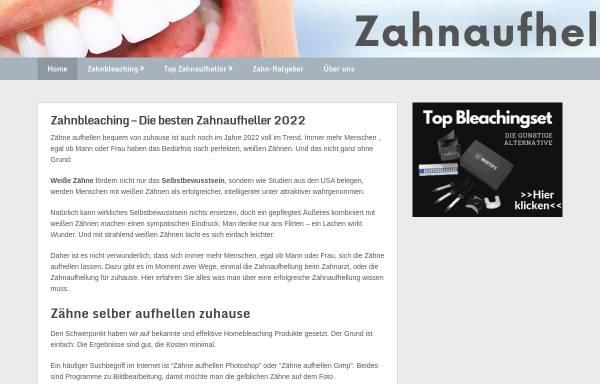 Vorschau von zahn-aufhellung-test.de, Zahanaufhellung Test