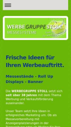 Vorschau der mobilen Webseite messeservice-bremen.eu, Messeservice Bremen