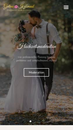 Vorschau der mobilen Webseite yourmagicday.de, Galina Kußmaul