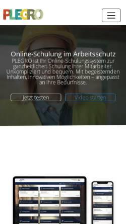 Vorschau der mobilen Webseite www.as-trainer.com, AS Trainer GmbH