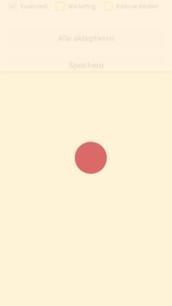 Vorschau der mobilen Webseite www.annas-schnullerketten.de, Annas Schnullerketten