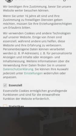 Vorschau der mobilen Webseite tcm-putzer.de, Rick Putzer