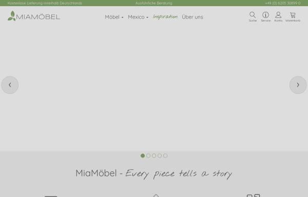 Vorschau von www.mia-moebel.de, MiaMöbel GmbH