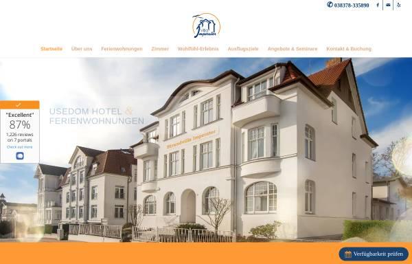 Vorschau von www.villa-imperator.de, Strandvilla Imperator
