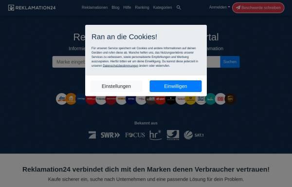 Vorschau von www.reklamieren24.de, Reklamieren24