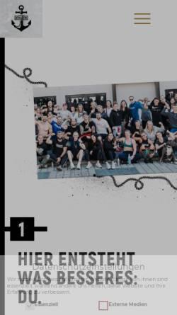 Vorschau der mobilen Webseite www.sanktpauliathletik.com, Sankt Pauli Athletik GmbH