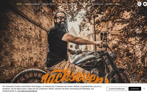 Vorschau von www.jackseven-ratbike-customs.de, JackSeven