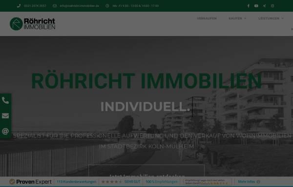 Vorschau von www.roehricht-immobilien.de, Röhricht Immobilien