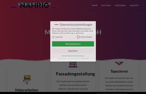 Vorschau von maler-naehrig.de, Mahler Nährig GmbH