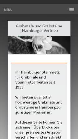 Vorschau der mobilen Webseite www.grabmale-otto-ihlenfeld.de, Otto Ihlenfeld GmbH