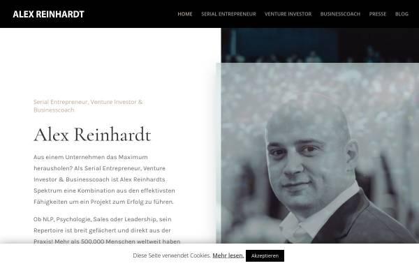 Vorschau von www.alexreinhardt.de, Alex Reinhardt