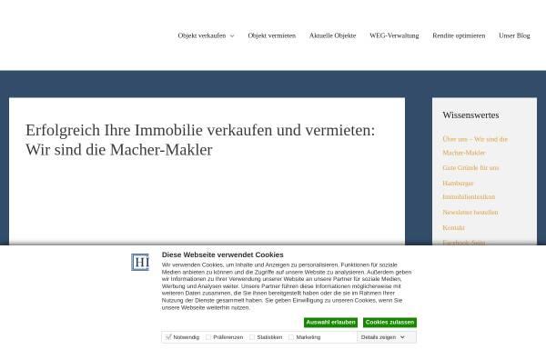 Vorschau von www.hamburger-immobilien.de, Hamburger Immobilien