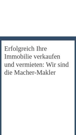 Vorschau der mobilen Webseite www.hamburger-immobilien.de, Hamburger Immobilien