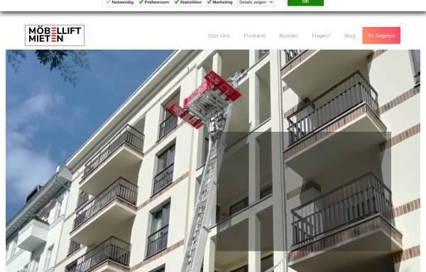 Vorschau von www.moebellift-vermietung.berlin, Möbelliftvermietung