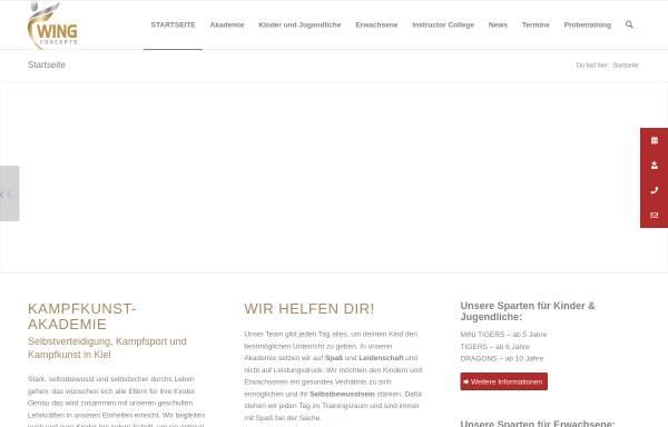 Vorschau von www.akademie-selbstverteidigung-kinder.de, Kampfkunstakademie - Stefan Jöhnk