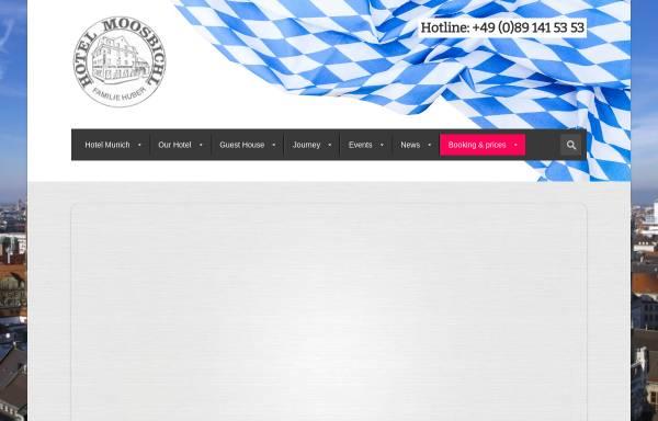 Vorschau von www.hotel-moosbichl.com, Hotel Moosbichl