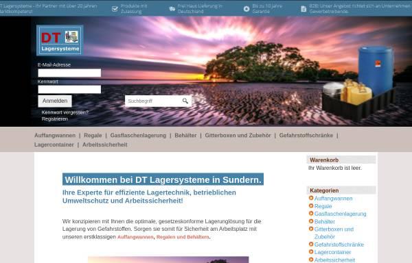Vorschau von www.dt-lagersysteme.de, DT Lagersysteme