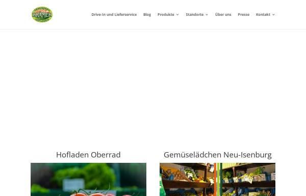 Vorschau von www.kraemer-gemuesebau.de, Hofladen Krämer