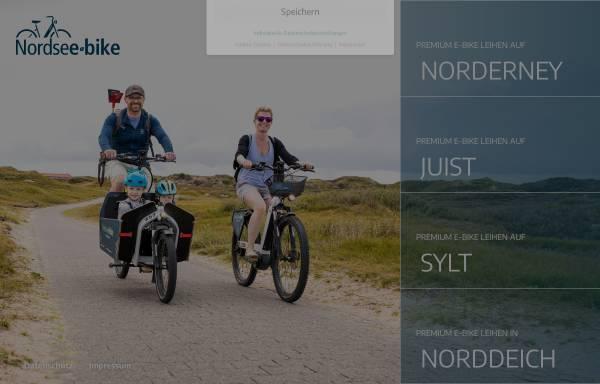 Vorschau von www.nordsee-bike.de, Nordsee-bike.de
