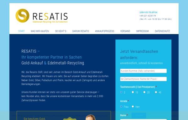 Vorschau von resatis.de, RESATIS