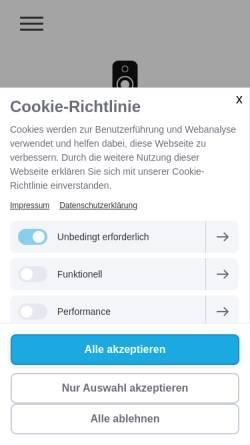 Vorschau der mobilen Webseite www.mjs-solutions-kassel.de, Veranstaltungstechnik Stocker und Schulz GbR