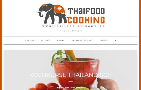 Vorschau von thaifood-at-home.de, Thaifood at Home