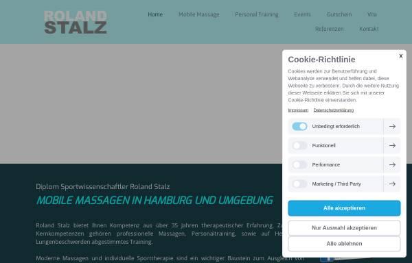 Vorschau von www.roland-stalz.de, Roland Stalz