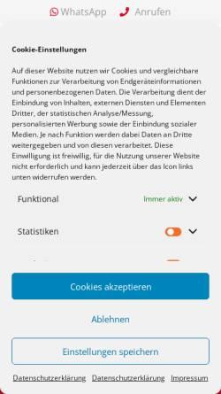 Vorschau der mobilen Webseite autoankauffranken.de, Ankauf Franken