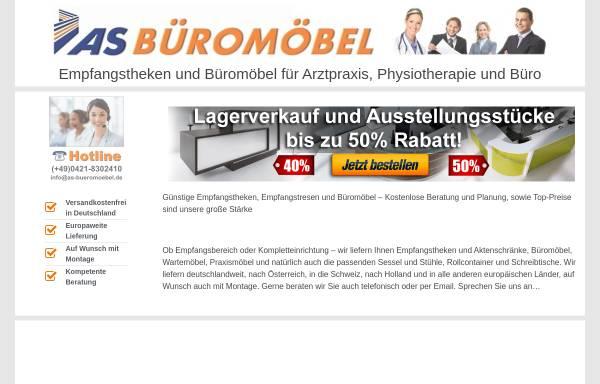 Vorschau von www.as-bueromoebel.de, As Büromöbel GmbH