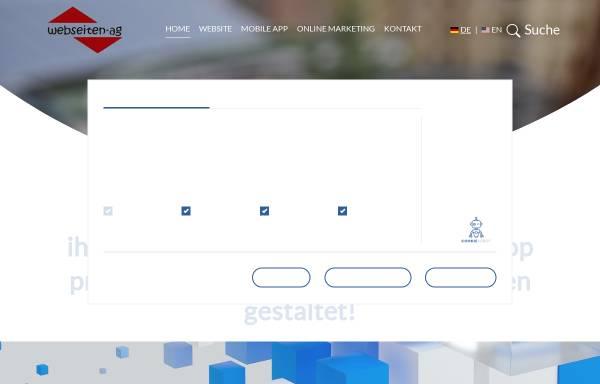 Vorschau von www.webseiten-ag.de, Webseiten-AG