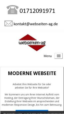 Vorschau der mobilen Webseite www.webseiten-ag.de, Webseiten-AG