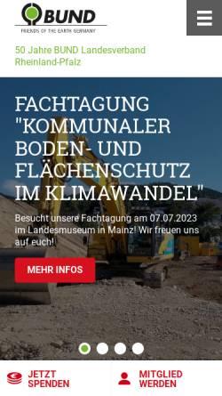 Vorschau der mobilen Webseite vorort.bund.net, Insektenfreundliche Außenbeleuchtung