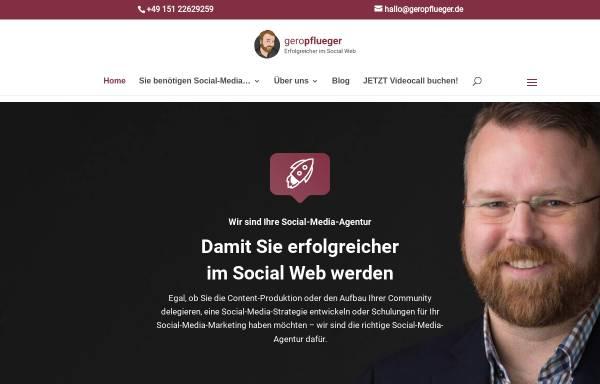 Vorschau von www.geropflueger.de, Gero Pflüger