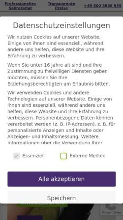 Vorschau der mobilen Webseite www.benefit-bueroservice.de, Benefit Büroservice GmbH