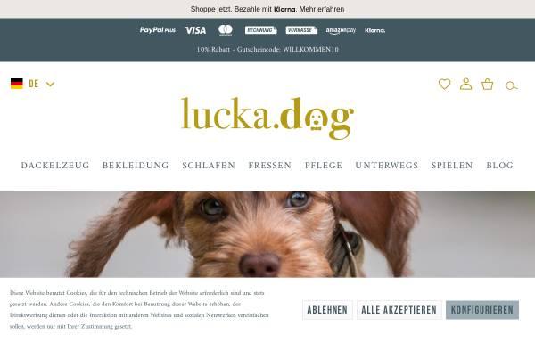 Vorschau von www.lucka.dog, Lucka.dog