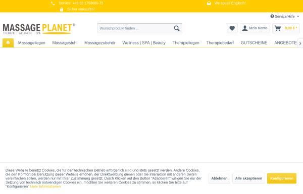 Vorschau von massage-planet.de, MASSAGE PLANET