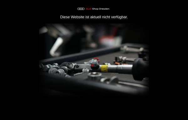 Vorschau von www.audishop-dresden.de, Auto Zentrum Dresden GmbH & Co. KG