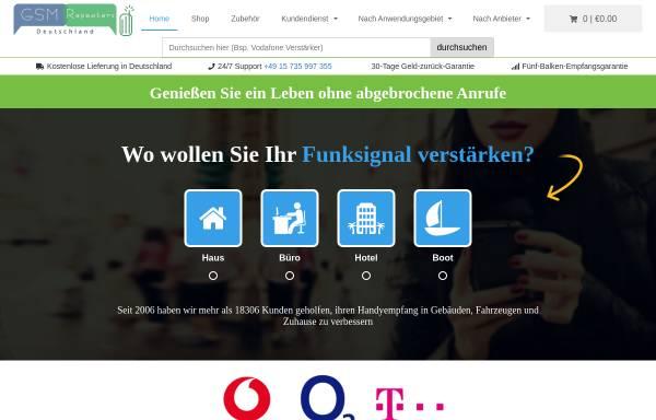 Vorschau von www.gsmrepeaters.de, Gsm Repeaters