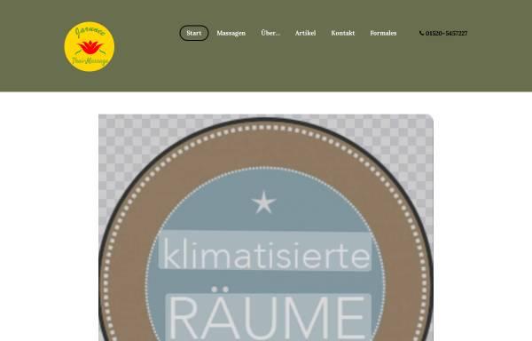 Vorschau von jarunee-thaimassage.de, Jarunee-Thaimassage Mannheim