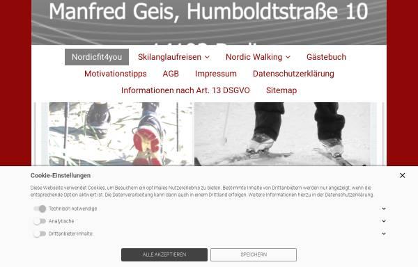 Vorschau von www.nordicfit4you.de, Nordicfit4you