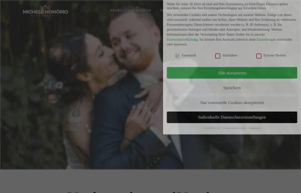 Vorschau von www.michelehonorio.com, Hochzeitsfotograf Michele Honório