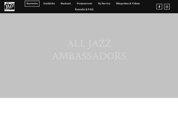 Vorschau von alljazzambassadors.at, All Jazz Ambassadors