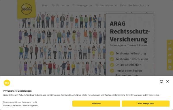 Vorschau von www.rechtsschutz-koeln.de, ARAG Generalagentur