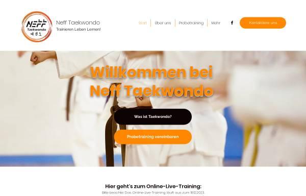 Vorschau von www.nefftaekwondo.de, Neff Taekwondo