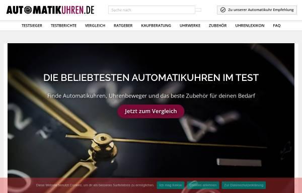 Vorschau von automatikuhren.de, Automatikuhren.de